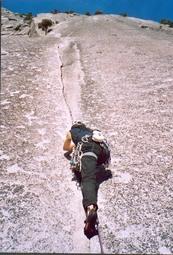 Serenety crack Yosemite escalade